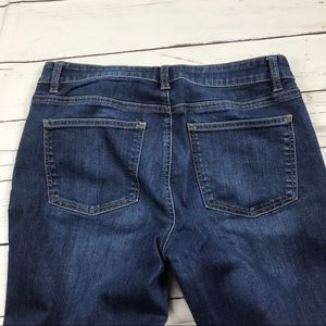 Women's Talbots Size 8 Stretch Ankle Jeans